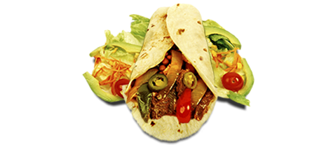 Burrito de asado cajún