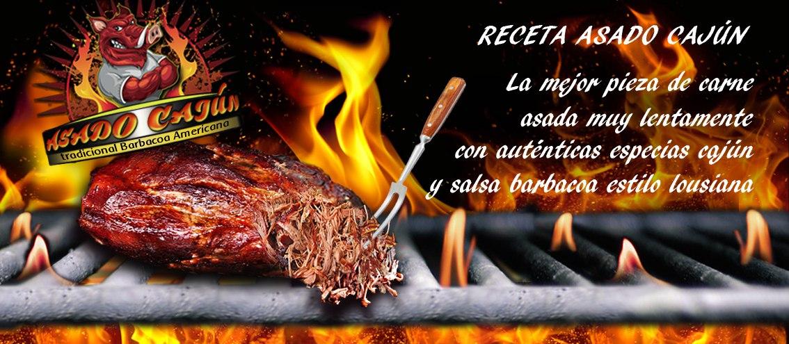 Asado cajún receta del Mexicano express