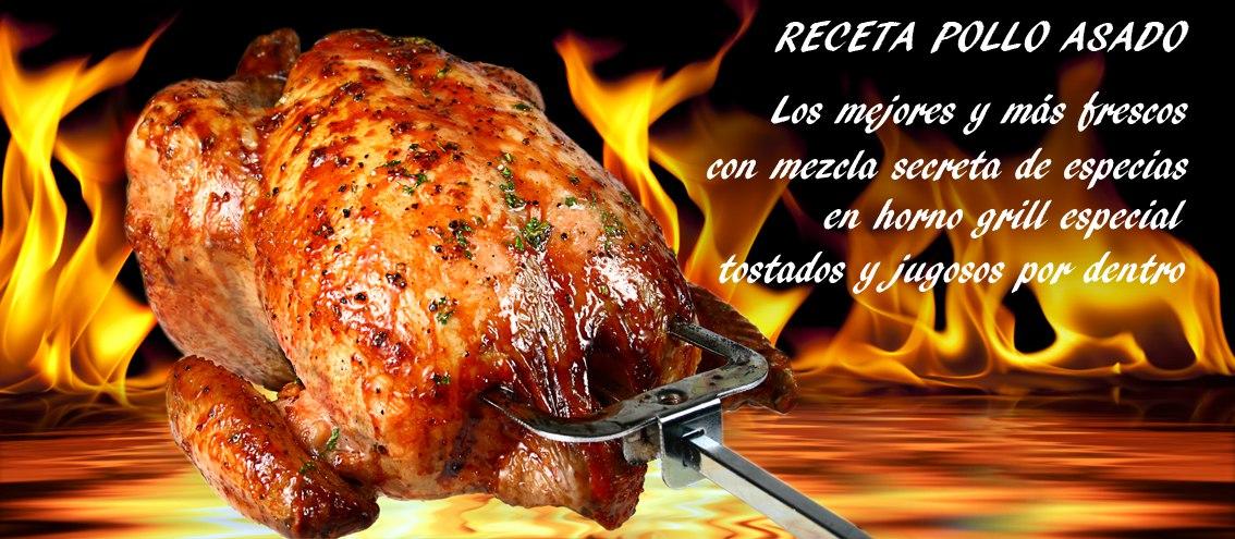 Pollo asado receta de el Mexicano Express